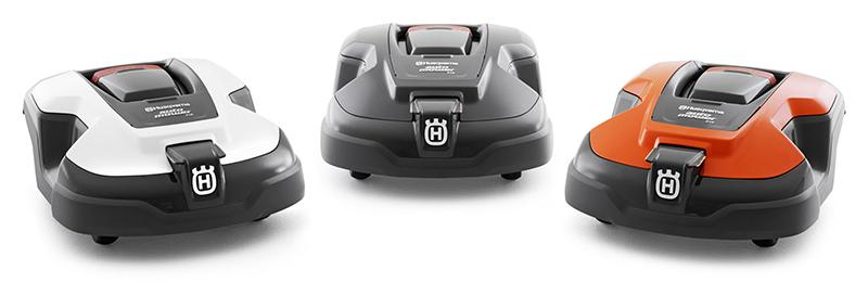 Photo de 3 robots tondeuses Husqvarna Automower 430X