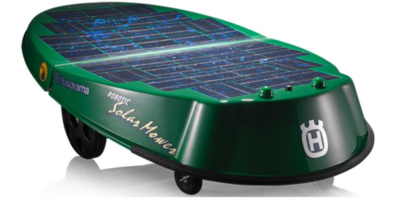 Photo du robot tondeuse Husqvarna Solar Mower
