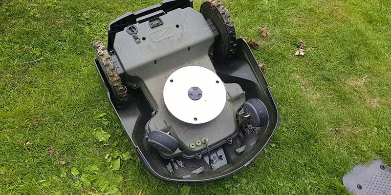 Photo du système de coupe du robot tondeuse Husqvarna Automower 430X
