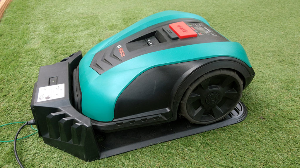 robot tondeuse bosch indego 350 connect